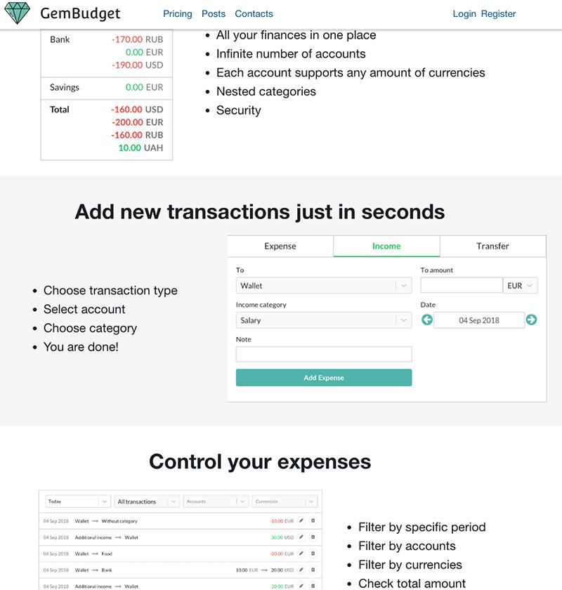 The best YNAB alternative | Montes Remote Developer
