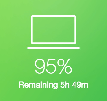 Doubled MacBook Pro Battery Life
